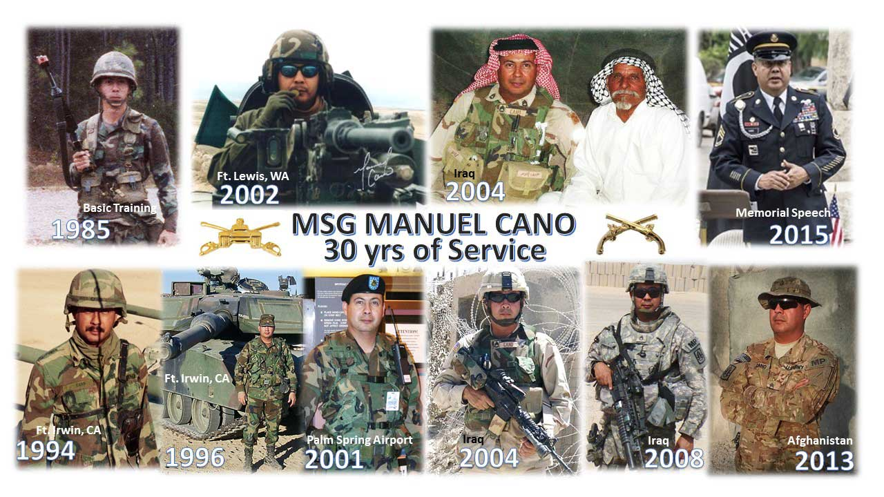 Manuel Cano - 30 years of Service Visual Tribute